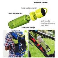 SAVA Water Bottle Bicycle bottle Mountain bike Bottle Bluetooth /Music Cattle 650ML Bicycle cycling Mountian Bike Water Cattle