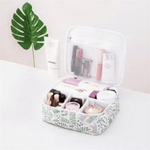 Fashion Print Makeup Case Professional Oxford Cloth Bag Cosmetic Cases Large-Capacity Cosmetics Storage Organizer