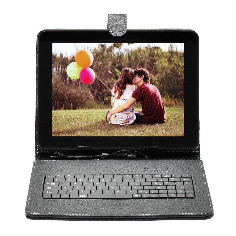Quad Core Comprimés Pcs lecteur de livre 9.7 pouce SIM Android 6.0 double Cam 16 GB/1 GB w/Unique Tablet pc ou ajouter couvercle Du Clavier Russe