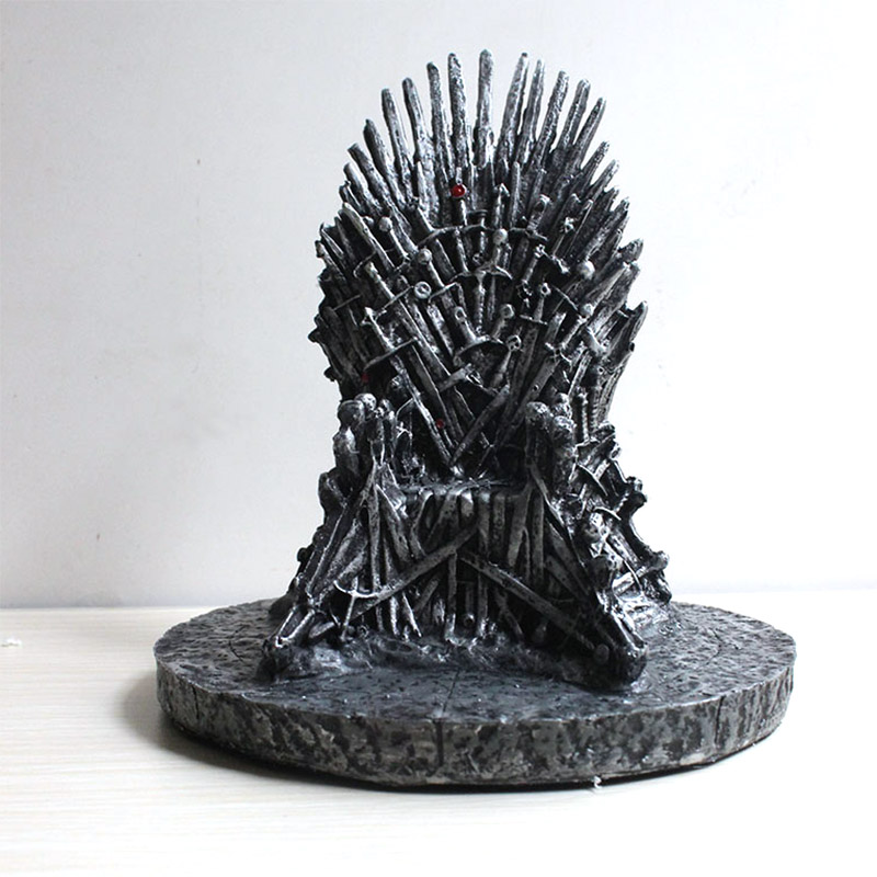 GoT Figure The Iron Throne Statue Action Figure Collectible Model Movie & TV Toy Gift 16cm
