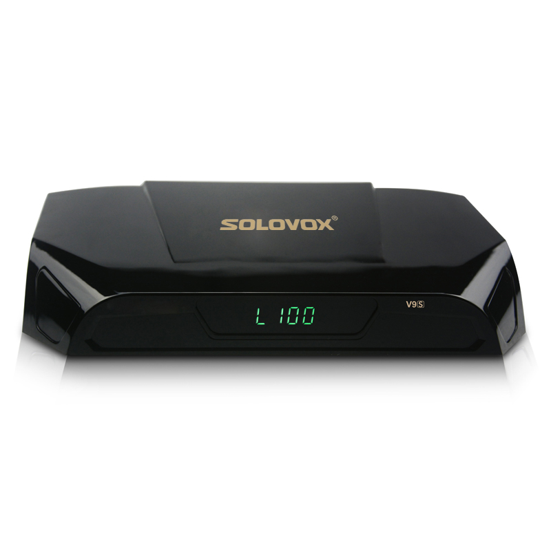 2PCS SOLOVOX V9S DVB-S2 HD Digital Satellite Receiver Support TVbox USB Port WEB TV CCCAMD NEWCAMD Miracast IPTV Box Set Top Box цена