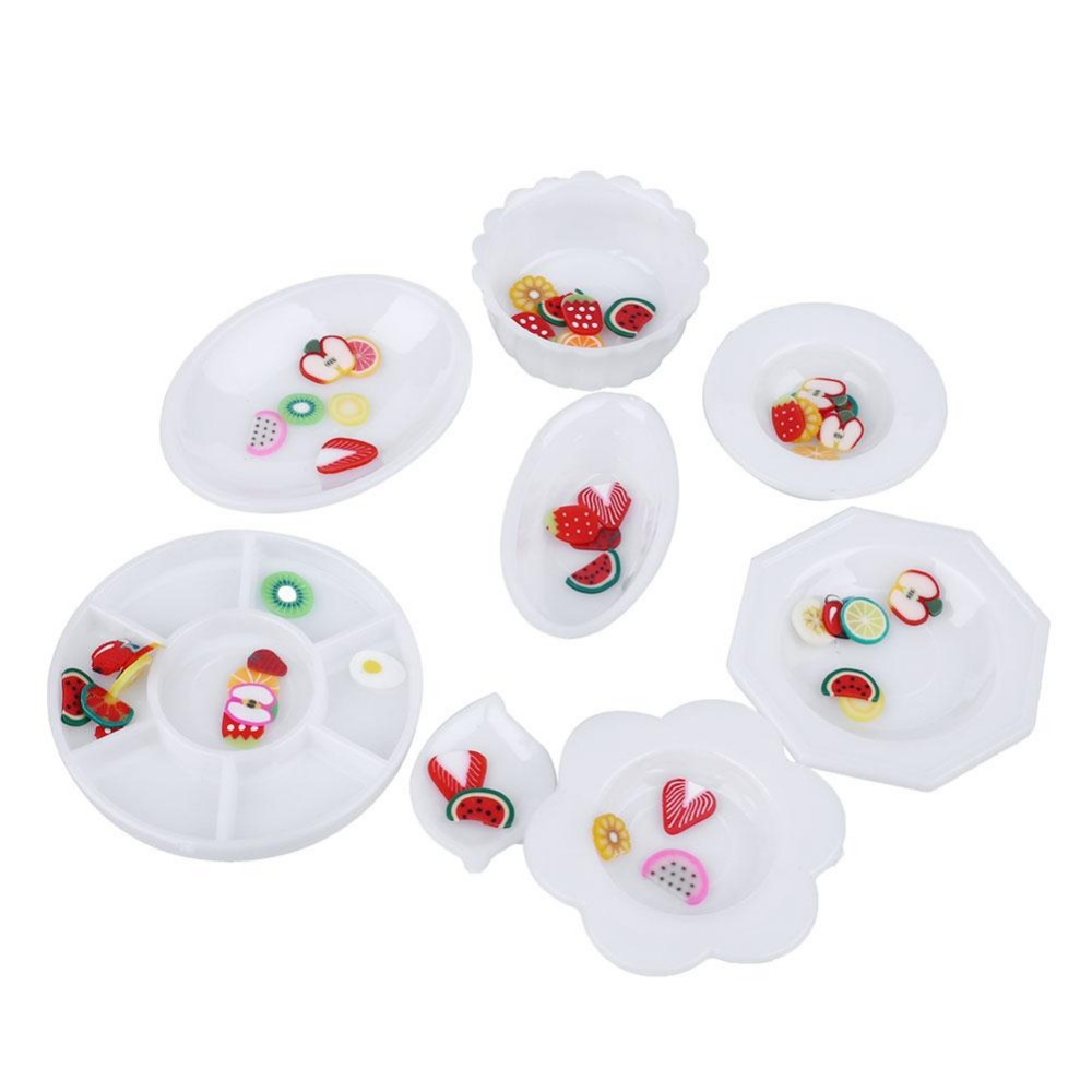 33pcs/Set Doll Accessories Kitchen Mini Tableware Miniatures Cup Plate Dish Decor Toys Brinquedos For Kids Girl russian lacquer miniatures