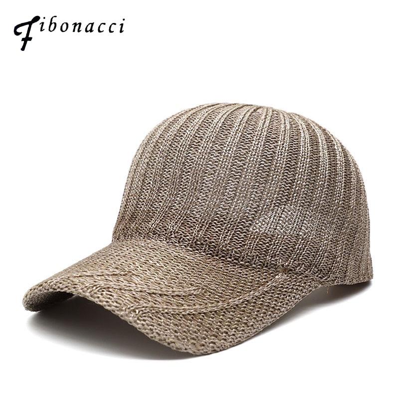 Fibonacci 2019 New Brand Quality Summer Breathable Mesh Baseball Caps for Men Women Outdoor Snapback Hats