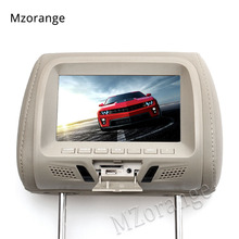цены на Headrest Monitor 7 inch TFT LED Screen Pillow Monitor General Car Beige/Gray/Black color AV USB SD MP5 FM Speaker Universal  в интернет-магазинах