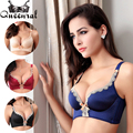 2016 Push up Bra Sexy Lingerie Big Size Bra Women's Bras Bustier Lace Bralette Uplift bras for Women Cropped Top