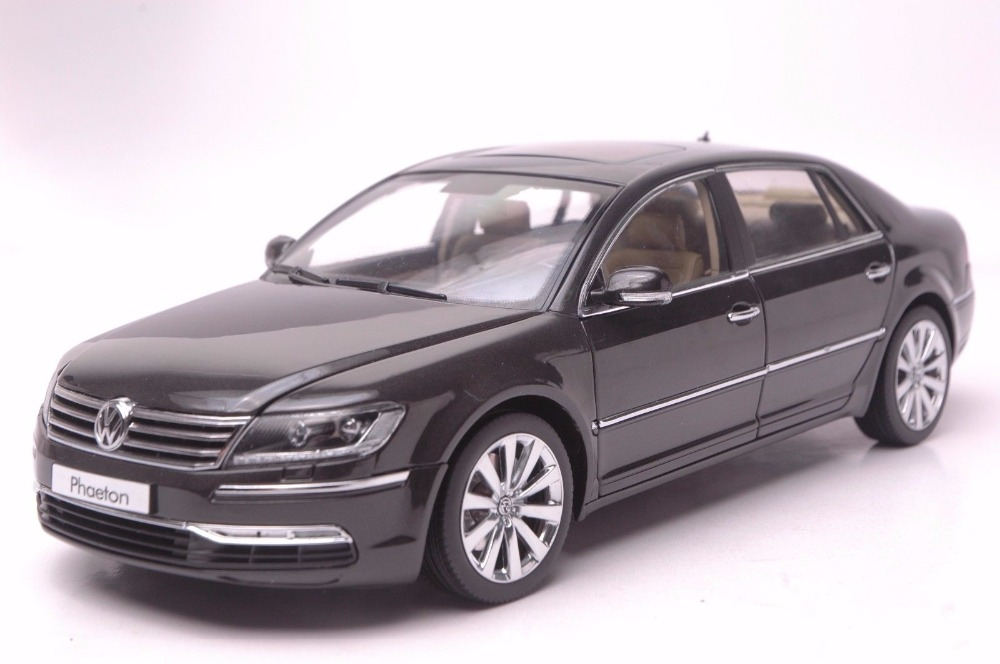 1:18 Diecast Model for Volkswagen VW Phaeton W12 6.0 Sedan Alloy Toy Car Miniature Collection Gifts halilo new 2018 girls summer dress kids clothes girls party dress children clothing pink princess flower girl dresses hot sale
