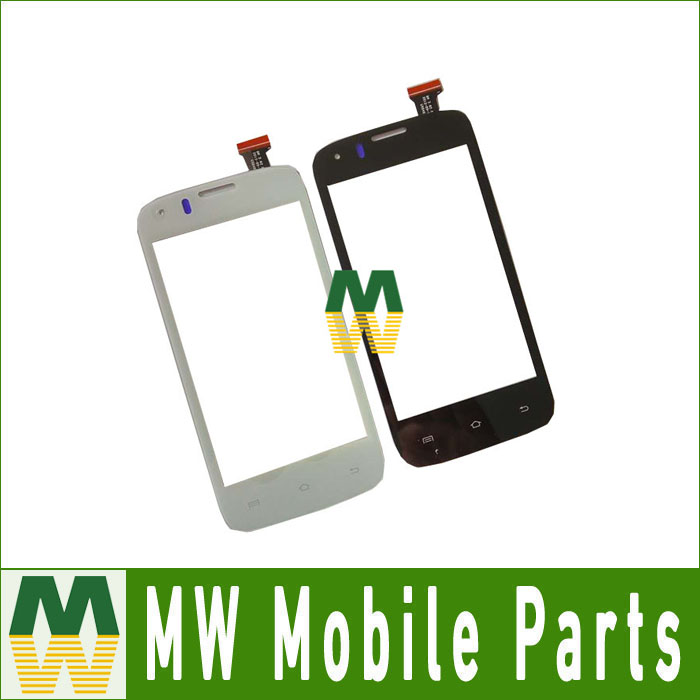 1PC/ Lot For Prestigio MultiPhone PAP4055 PAP 4055 Touch Screen Digitizer Assembly White Black Color