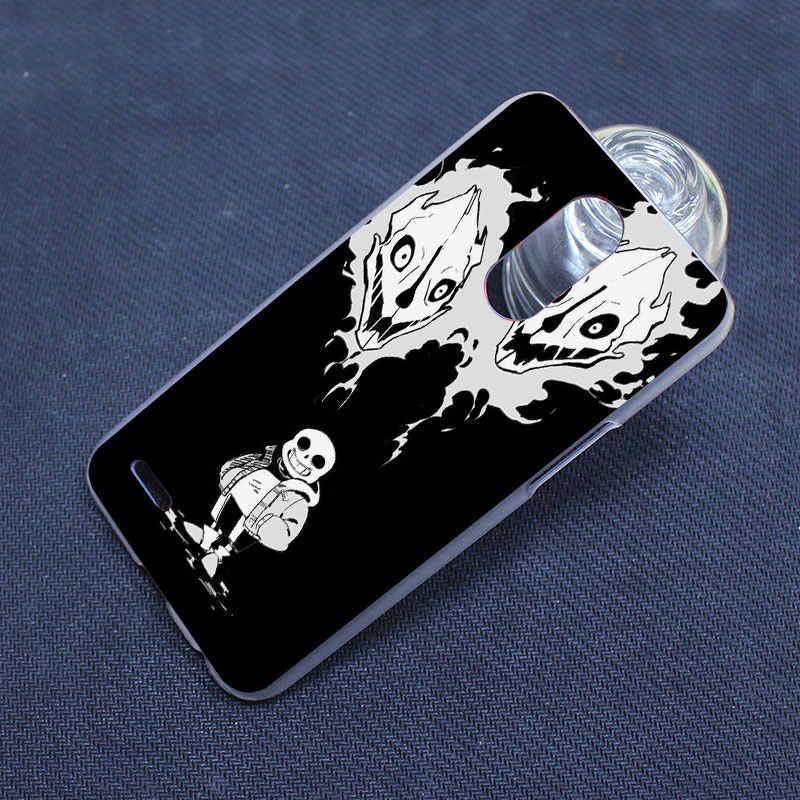 Undertale Sans design transparent clear hard case cover for LG G3 G4 G5 G6  K4 K5 K8 K10 V10 V20 K10 2017