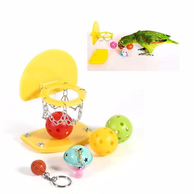 Pet Birds Chew Toy Bird Parrot Intelligence Training Toys ...
