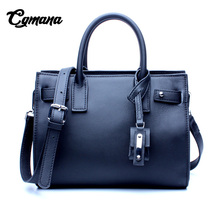 Women Genuine Leather Handbag 2018 Luxury Handbags Women Bags Designer New Ladies First Layer of Leather Shoulder Bag Handbag 100%genuine leather handbags women crocodile handbag messenger shoulder bags first layer cowhide leather zipper party bag purple