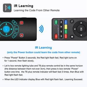 Image 3 - Ses kontrolü Fly Air fare Gyro algılama oyunu 2.4GHz kablosuz klavye uzaktan kumanda Android için mikrofon kutusu X96Max X96mini