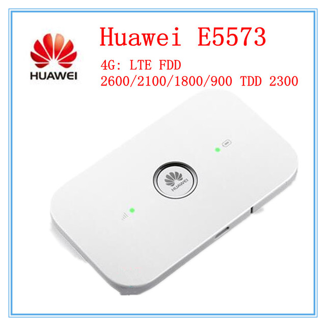 US $39 9 |Original Unlocked Huawei E5573 E5573Cs 609 LTE FDD 150Mbps 4G  Pocket WiFi Router Modem Dongle -in 3G/4G Routers from Computer & Office on