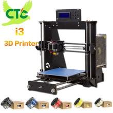 CTC 3D-принтеры Reprap Prusa MK8 i3 DIY Kit MK2A heizung bett 3d Друкер ABS/PLA