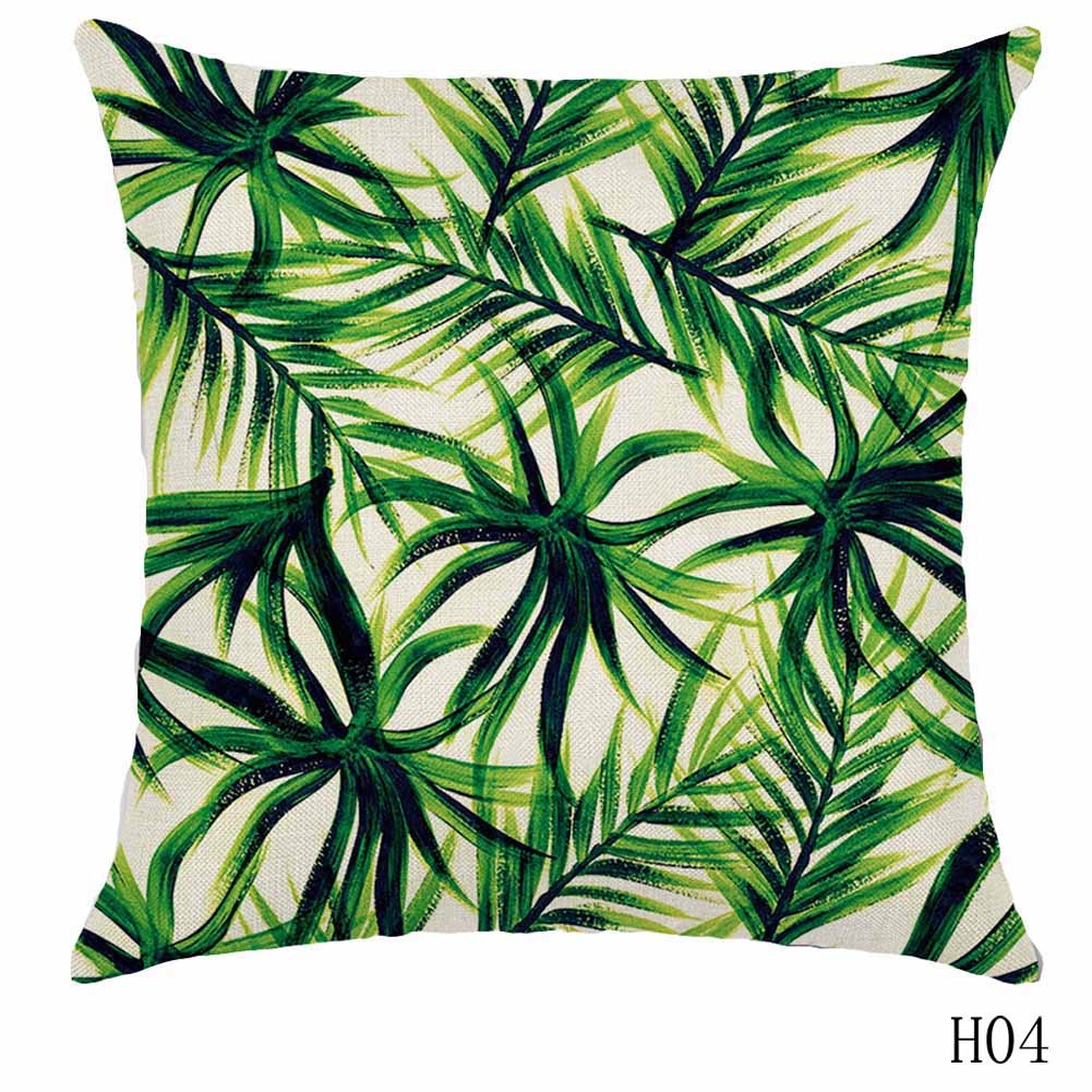 Rainforest Leaves Africa Linen Tropical Plants Hibiscus Flower Throw ...