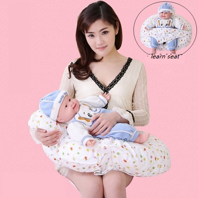 Multifunction Nursing Pillow baby learn seat Infant Breastfeeding Pillow Baby Cuddle-U Protect Mummy Waist Support Cushion
