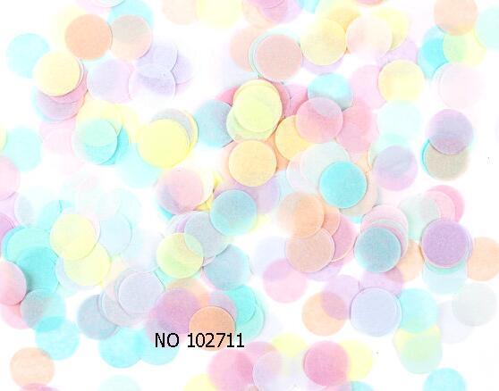 ffc3758017d3e US $7.8 |100g Pastel Rainbow Tissue Paper Confetti Pink Peach Yellow Mint  Purple 1