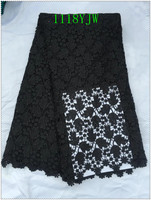 New Arrival High Quality African Cord Lace Fabrics African Mesh Cord Lace Guipure Lace Fabrics For
