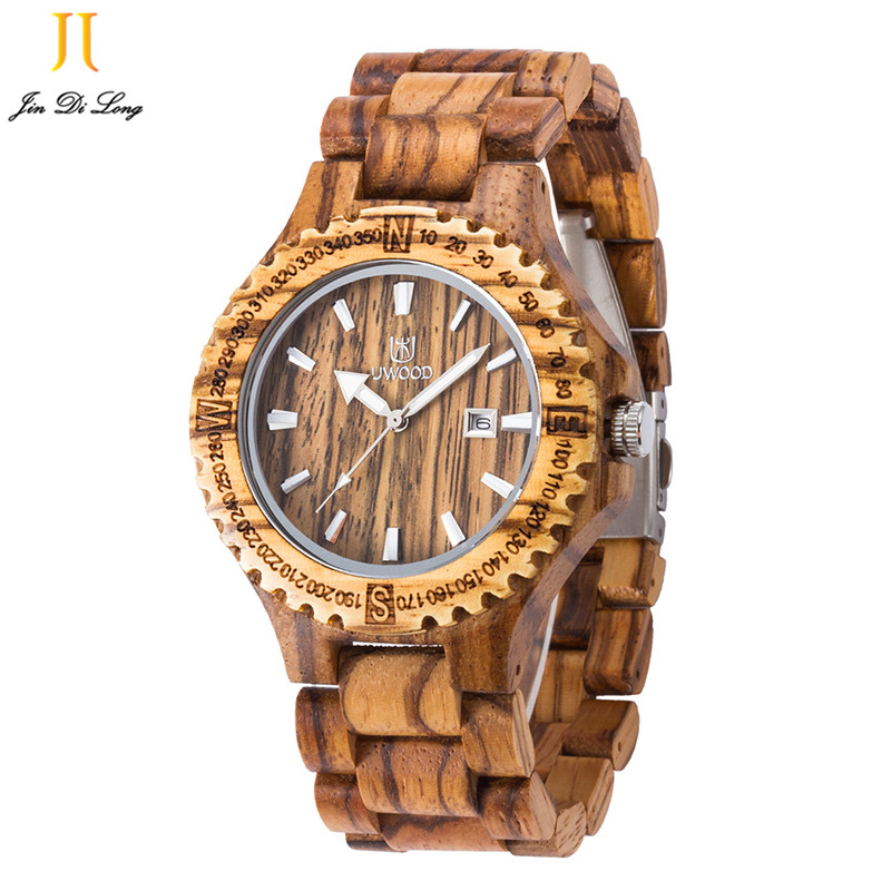 Wood Watches For Men Zebra Wood Case Men Quartz Watch With Ebony Bamboo Wood Face With Zebra Bamboo Wood Strap Relogio Masculino gorben round vintage zebra wood case men watch with ebony bamboo wood face bamboo wood strap bracelet watches cool modern gifts