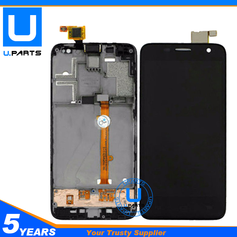 Complete Assembly With Frame For Alcatel Idol mini 6012D 6012A 6012 OT6012D OT6012A OT6012 LCD Display