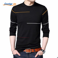 Covrlge 2017 Autumn New Men S Sweater Fashion Slimfit Pullover Male Striped Pullover Men Brand Clothing