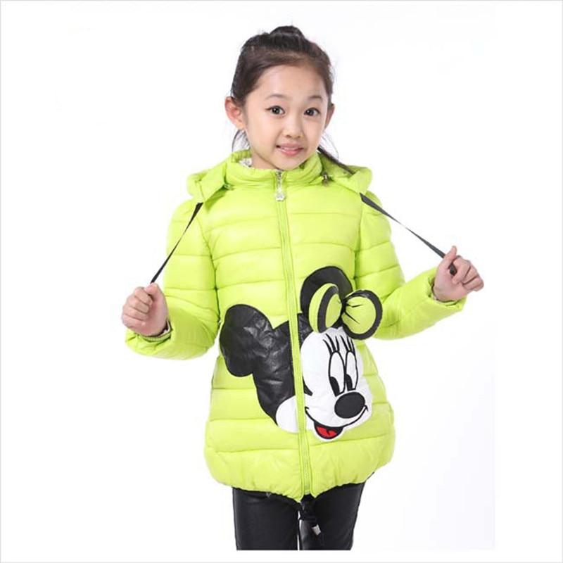Qızlar Moda Gödəkçələr Uşaq Geyimləri Mickey Minnie Qız - Uşaq geyimləri - Fotoqrafiya 4