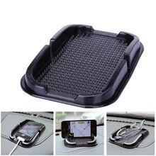 רכב אנטי סליפ Pad גומי נייד טלפון לוח מחוונים מקל דביק מדף אנטי ללא סליפ GPS MP3 רכב DVR ללא בעל