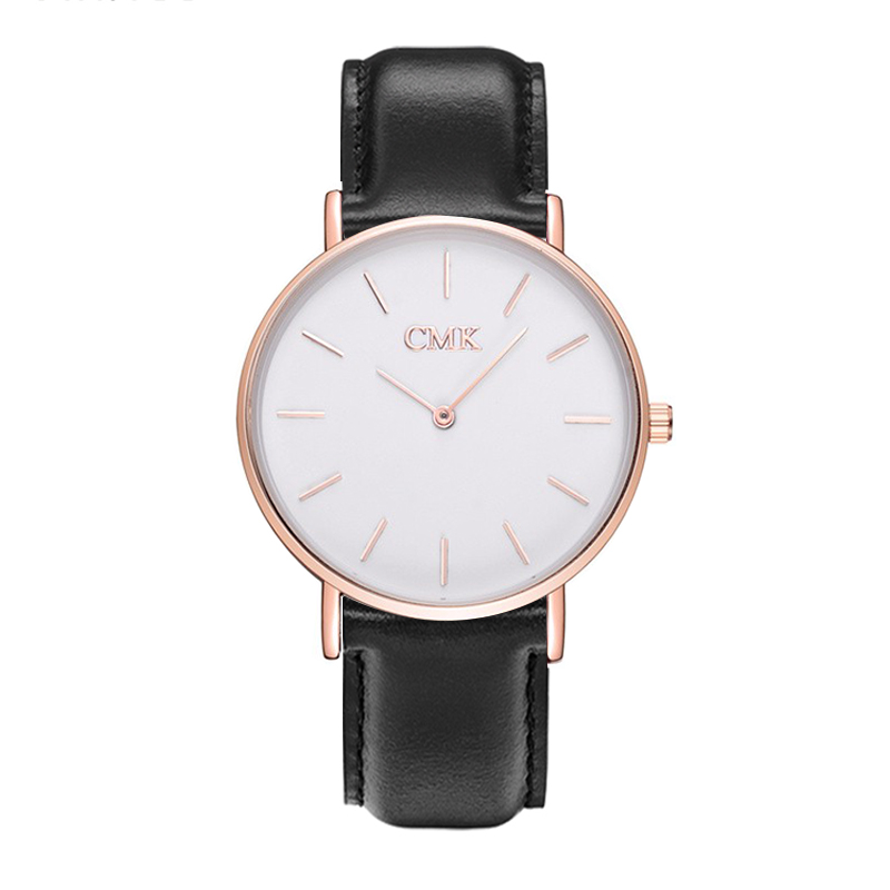 Hot Brand Clock women watches Leather strap Sports Quartz men Watch Casual Couple Models Various styles 6 color Wristwatches free drop shipping 2017 newest europe hot sales fashion brand gt watch high quality men women gifts silicone sports wristwatch