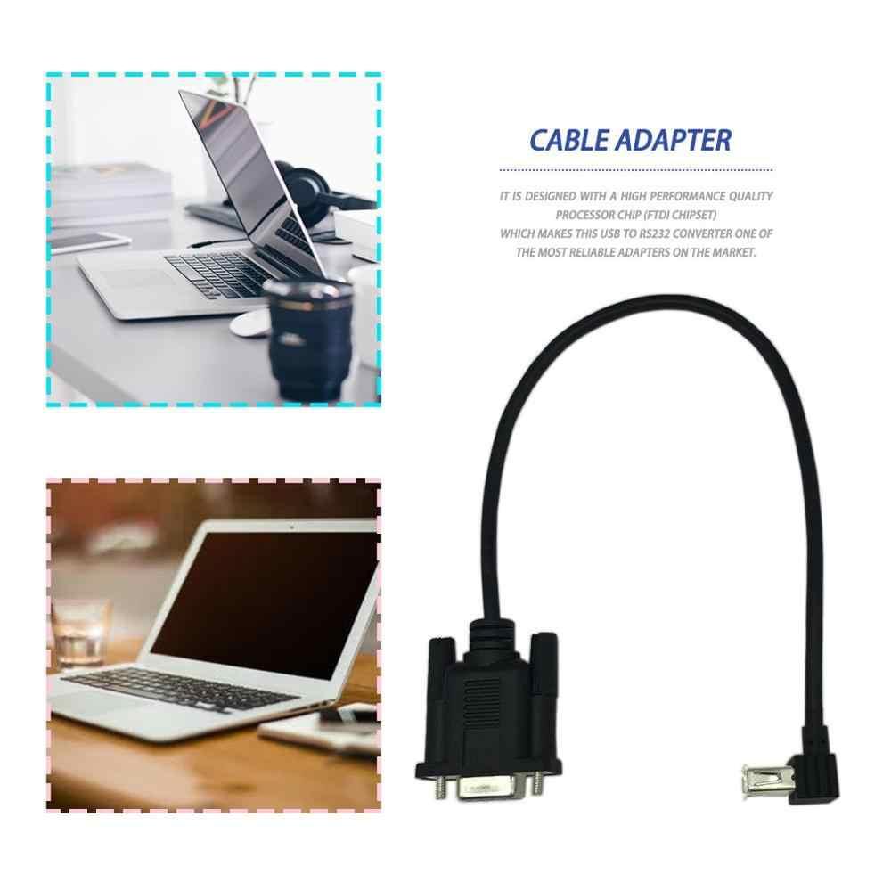 USB 2.0 A メス RS232 DB9 女性シリアルケーブルアダプタコンバータ Ftdi チップセットで構築された信頼性アダプタ