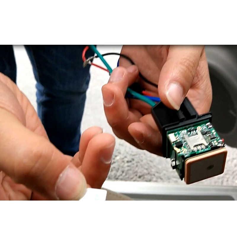 CJ720 新車追跡リレー GPS トラッカーデバイス GSM ロケータリモコン盗難防止監視カットオフ石油電源システムの App