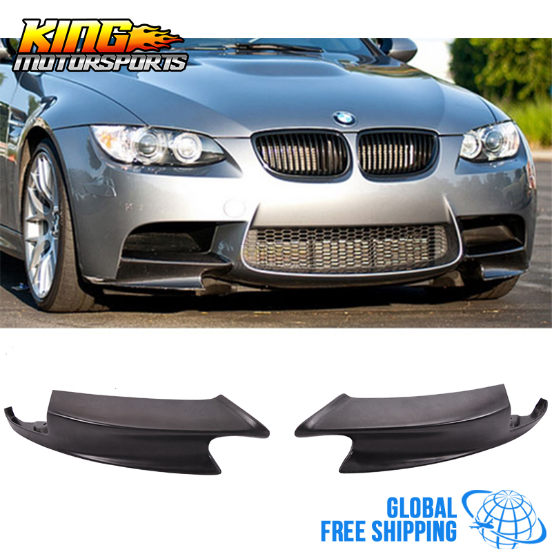 For 2008-2013 09 10 11 12 BMW E90 E92 M3 ZCP Competition Performance Front Bumper Lip Splitter Global Free Shipping Worldwide