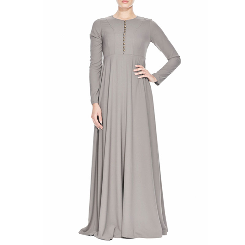 2015New Arrival Islamic Muslim long dress for Women Malaysia abayas in Dubai Turkish ladies clothing high quality long dress KJ
