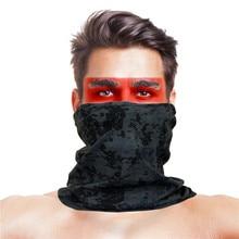 Mask Headwear Bandanas Face-Shield Bicycle Camo Scarf Seamless Outdoor Running Summer