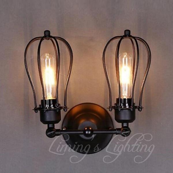 Lampe maison loft rétro moderne chambre minimaliste lampe de chevet ...