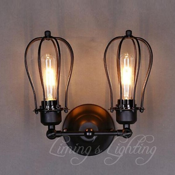 Lamp House Loft Retro Modern Minimalist Bedroom Bedside Lamp