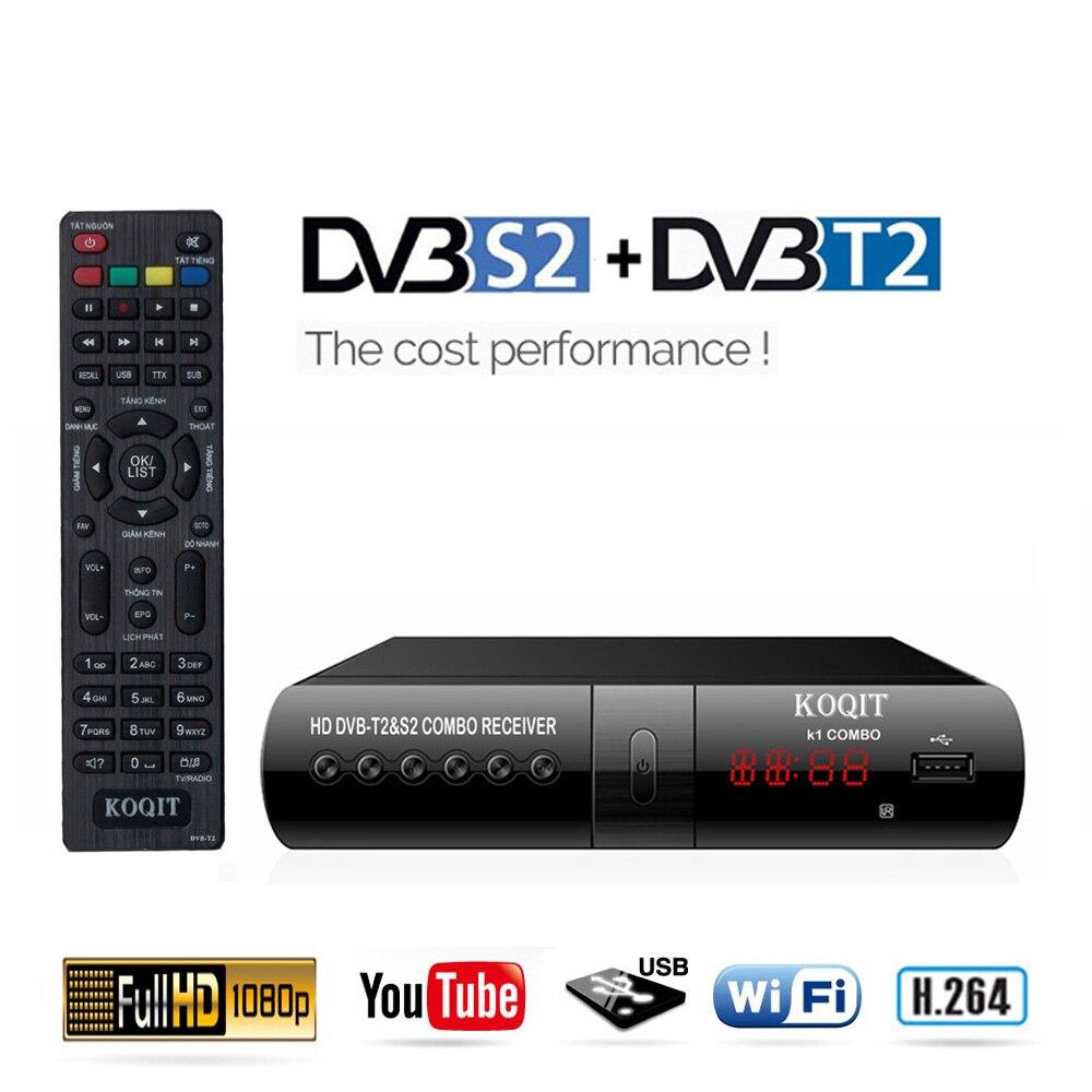 DVB-T2 + DVB-S2 TV…