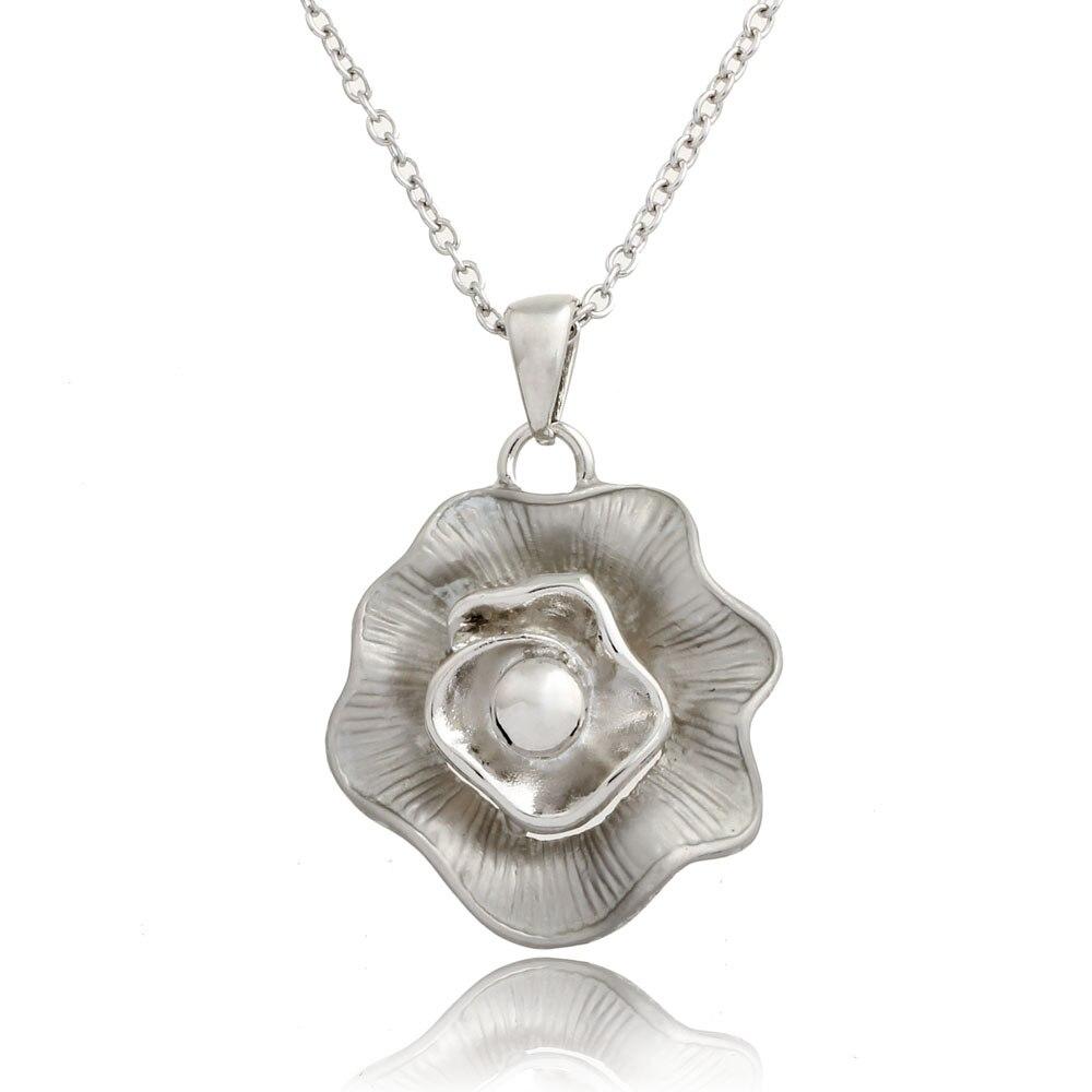 ISHOW Official Store New Pendant necklace women bijoux colier femme flower gold necklace Rhinestone sautoir long fashion necklaces for women 2016
