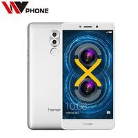 Original Huawei Honor 6X 3G RAM 32G ROM 4G LTE Mobile Phone Hisilicon Kirin 655 Octa