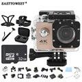 """4 К Действий Камеры F60 2.0 """"HD LCD 170D Wifi 1080 P/60FPS Подводные Камеры Go Водонепроницаемый Pro стиль Спорт Камеры"""