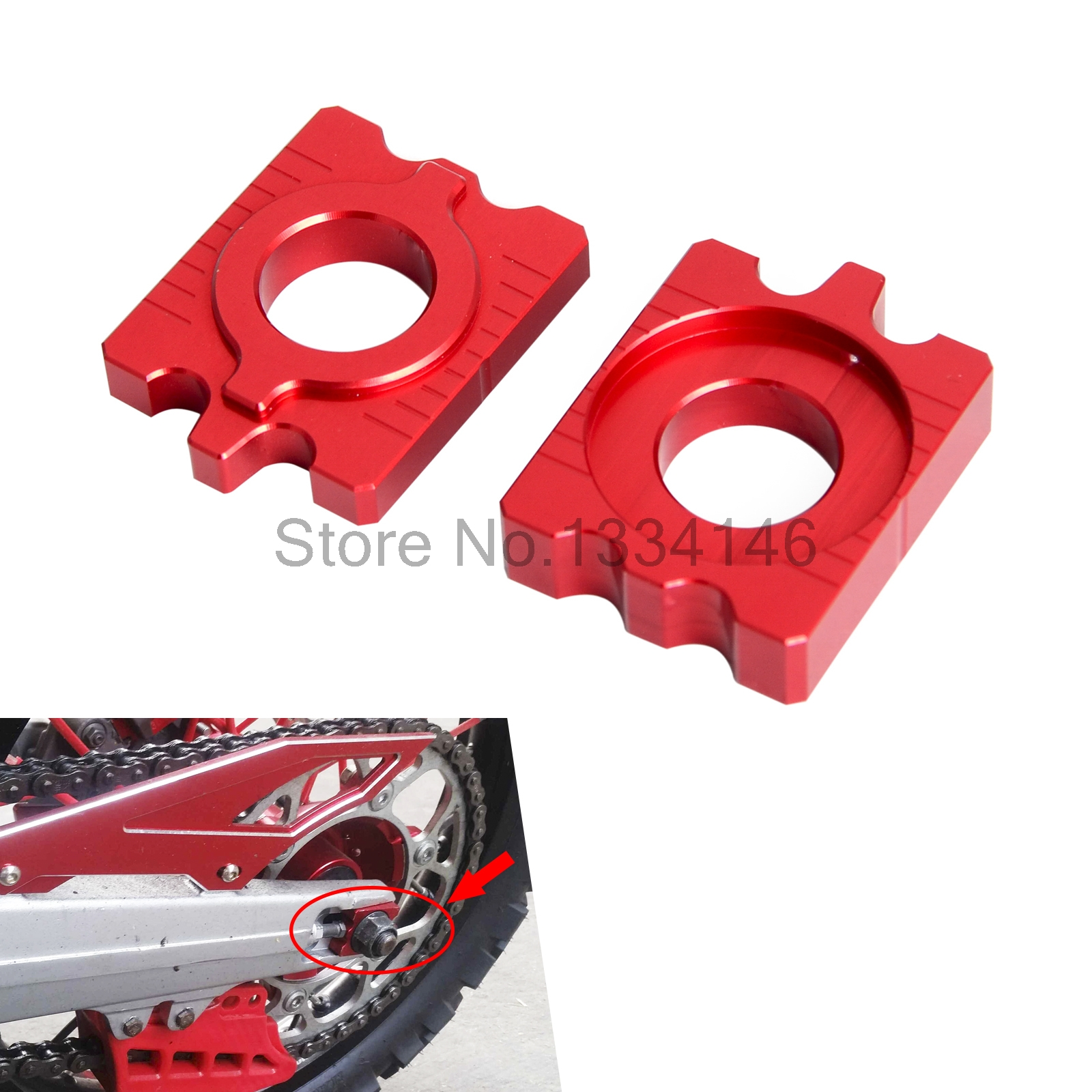 Rear Axle Block Chain Adjuster For Honda CRF250L CRF250M 2012-2015 2013 2014 15 Motocross Supermoto Dirt Bike partol black car roof rack cross bars roof luggage carrier cargo boxes bike rack 45kg 100lbs for honda pilot 2013 2014 2015
