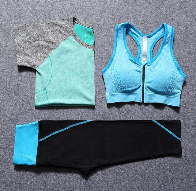 Alta Qualidade Conjunto de Sutiã Sexy Moda Mulheres Esportivos Cueca 3 peças Conjunto Push Up Conjunto de Lingerie Sutiã Conjunto Soutien Desfiladeiro