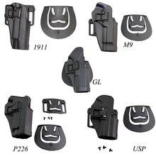 CQC тактическая кобура для пистолета для Gl 17 19 22 M9 92 Sig P226 HK USP Кольт 1911 Ipsc для охоты для пейнтбола Ружейные Аксессуары кобура для страйкбола