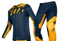 NEW 2019 NAUGHTY Fox Mens Navy Blue/Yellow 360 Kila Dirt Bike Jersey & Pants Kit Combo Adult Motocross Gear Set MX/ATV Dirt Bike