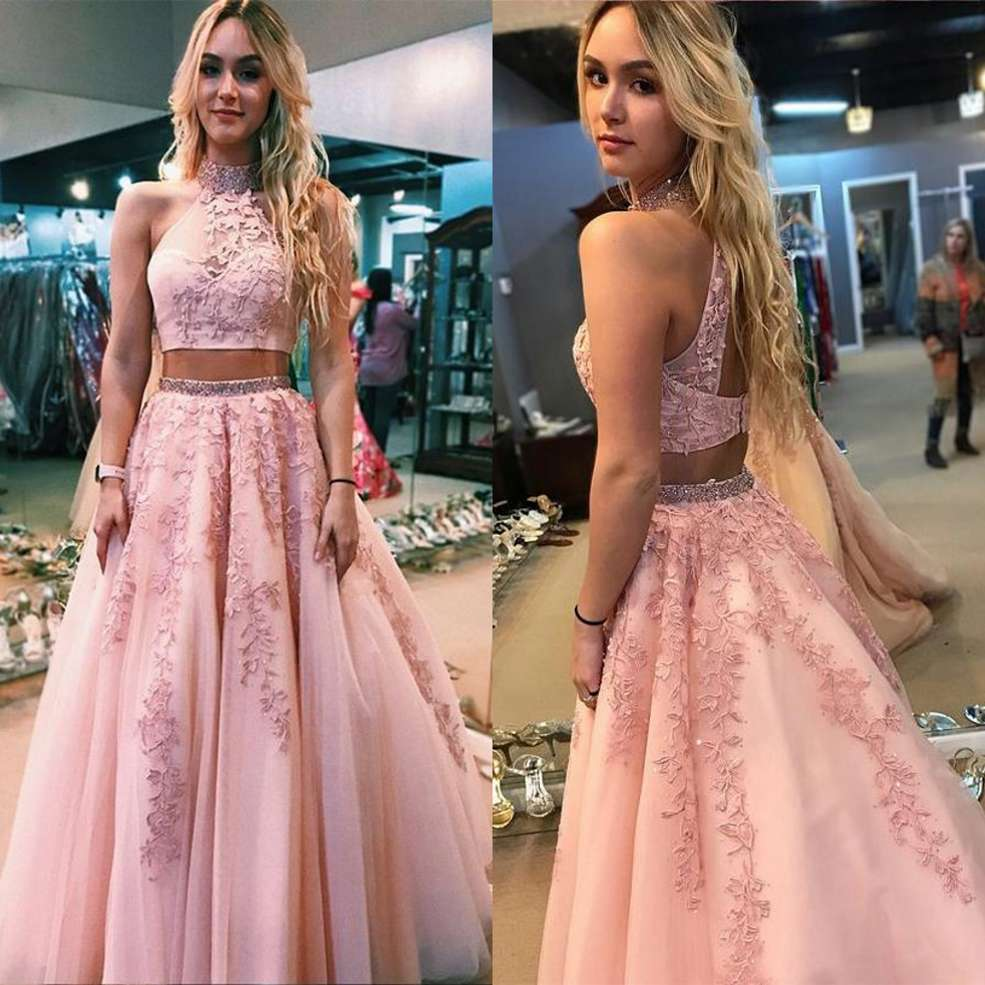 Formal Long   Evening     Dress   Prom   Dresses   Two Piece Plus Size Women Formal Gowns For Prom Wedding Party   Dresses
