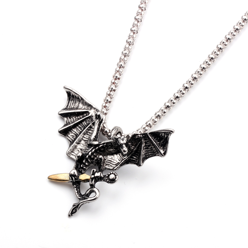 Game of Thrones Collier Dragon Colliers et Pendentifs Griffe tirer lépée