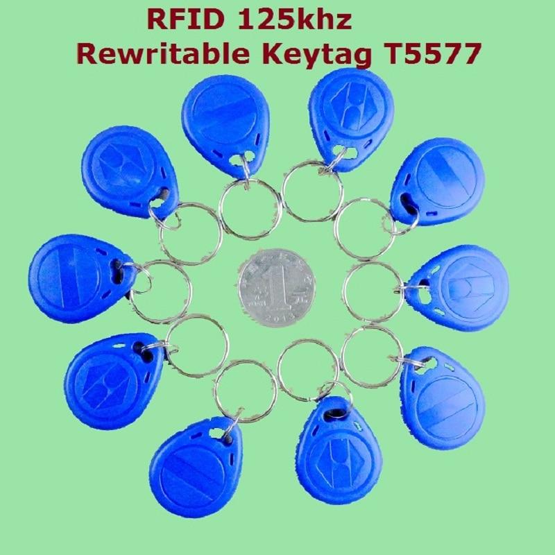 Купить 50 шт/лот 125 кгц бесконтактный rfid em4305 t5577 смарт id записываемый