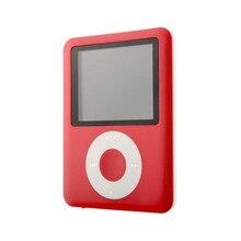 2017 Tapa Delgada MP3 8 GB 1.8 pulgadas LCD Multimedia de Vídeo la Película juego de Radio FM 3o Generación MP3 Reproductor de Música de Calidad Jan6