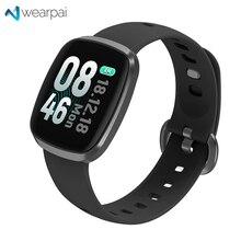 Купить с кэшбэком Wearpai GT103 fitness tracker full Screen touch smart watch heart rate blood pressure monitor watch men women Android/ios ip67