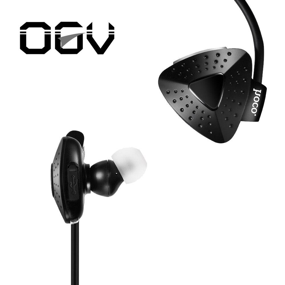 Ogv ES2 Водонепроницаемый <font><b>Bluetooth</b></font> наушники с микрофоном для Xiaomi Спорт Беспроводной Наушники для iphone <font><b>bluetooth</b></font> V4.1 стерео гарнитура