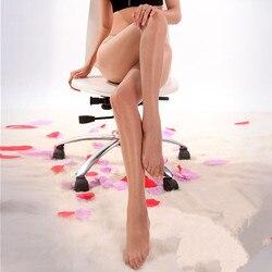 الإناث جوارب طويلة مفتوحة المنشعب رقيقة جدا السوبر السلس المرأة مثير جوارب النفط تألق شفافة الجوارب