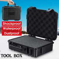 Protective Safety Instrument Tool Box Waterproof Shockproof Storage Toolbox Sealed Tool Case Impact Resistant Suitcase w/sponge